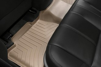 WeatherTech® 452352 - DigitalFit™ Molded Floor Liners (2nd Row, Tan)