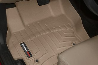 WeatherTech® 452401 - DigitalFit™ Molded Floor Liners (1st Row, Tan)