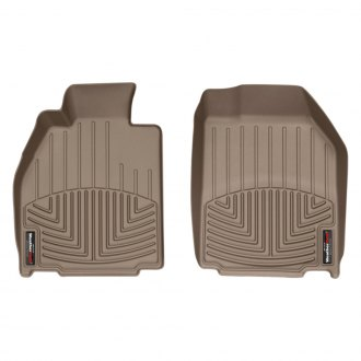WeatherTech® - DigitalFit™ Molded Floor Liners - 1st Row, Tan