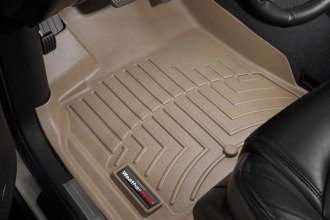 WeatherTech® 452511 - DigitalFit™ Molded Floor Liners (1st Row, Tan)