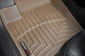 WeatherTech® 452631 - DigitalFit™ Molded Floor Liners (1st Row, Tan)