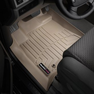 WeatherTech® - DigitalFit™ Molded Floor Liners - Tan