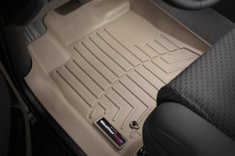 WeatherTech® 452771 - DigitalFit™ Molded Floor Liners (1st Row, Tan)