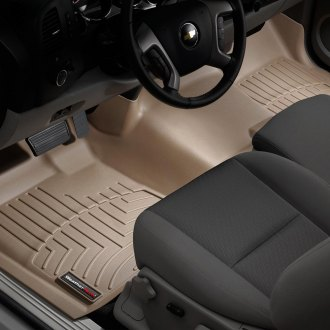WeatherTech® - DigitalFit™ Molded Floor Liners 1st Row - Over The Hump, Tan