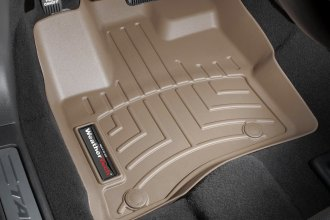 WeatherTech® 453021 - DigitalFit™ Molded Floor Liners (1st Row, Tan)