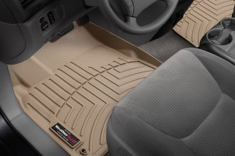 WeatherTech® 453151 - DigitalFit™ Molded Floor Liners (1st Row, Tan)