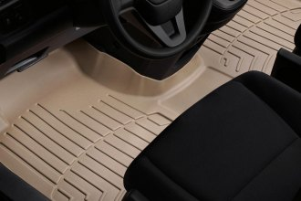 WeatherTech® 453191 - DigitalFit™ Molded Floor Liners (1st Row - Over The Hump, Tan)