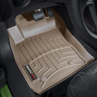 WeatherTech® - DigitalFit™ Molded Floor Liners (1st Row, Tan)