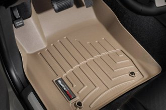 WeatherTech® 453241 - DigitalFit™ Molded Floor Liners (1st Row, Tan)