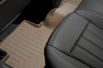 WeatherTech® 453272 - DigitalFit™ Molded Floor Liner (2nd Row, Tan)