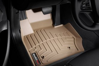 WeatherTech® 453311 - DigitalFit™ Molded Floor Liners (1st Row, Tan)