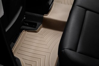 WeatherTech® 453312 - DigitalFit™ Molded Floor Liners (2nd Row, Tan)