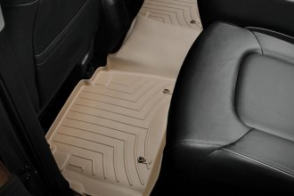 WeatherTech® 453362 - DigitalFit™ Molded Floor Liners (2nd Row, Tan)