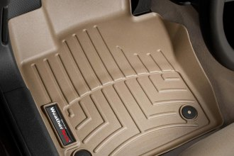 WeatherTech® 453381 - DigitalFit™ Molded Floor Liners (1st Row, Tan)