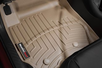 WeatherTech® 453541 - DigitalFit™ Molded Floor Liners (1st Row, Tan)