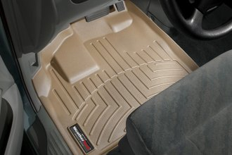 WeatherTech® 453561 - DigitalFit™ Molded Floor Liners (1st Row, Tan)