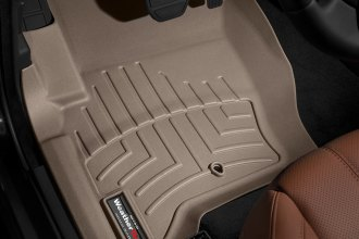 WeatherTech® 453621 - DigitalFit™ Molded Floor Liners (1st Row, Tan)