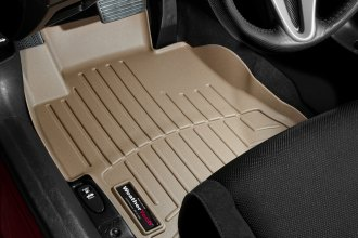 WeatherTech® 453631 - DigitalFit™ Molded Floor Liners (1st Row, Tan)