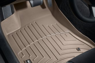 WeatherTech® 453791 - DigitalFit™ Molded Floor Liners (1st Row, Tan)