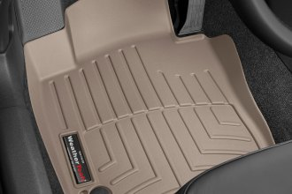 WeatherTech® 453841 - DigitalFit™ Molded Floor Liners (1st Row, Tan)
