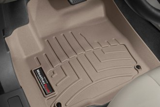 WeatherTech® 454041 - DigitalFit™ Molded Floor Liners (1st Row, Tan)