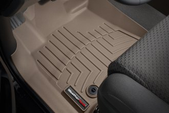 WeatherTech® 454081 - DigitalFit™ Molded Floor Liners (1st Row, Tan)