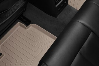 WeatherTech® 454102 - DigitalFit™ Molded Floor Liners (2nd Row, Tan)