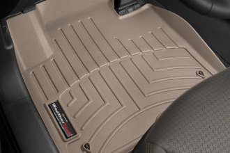 WeatherTech® 454401 - DigitalFit™ Molded Floor Liners (1st Row, Tan)