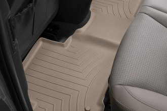 WeatherTech® 454402 - DigitalFit™ Molded Floor Liners (2nd Row, Tan)