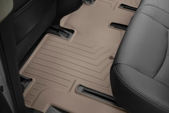 WeatherTech® 454452 - DigitalFit™ Molded Floor Liner (2nd Row, Tan)