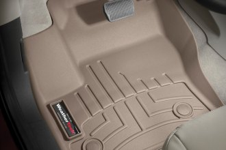 WeatherTech® 454591 - DigitalFit™ Molded Floor Liners (1st Row, Tan)