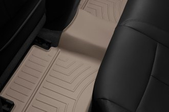 WeatherTech® 454662 - DigitalFit™ Molded Floor Liners (2nd Row, Tan)