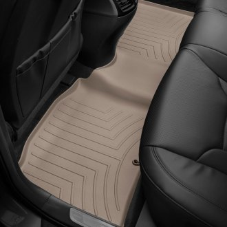 WeatherTech® - DigitalFit™ 2nd Row Tan Molded Floor Liner