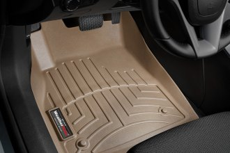 WeatherTech® 455231 - DigitalFit™ Molded Floor Liners (1st Row, Tan)