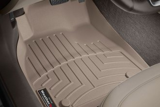 WeatherTech® 455241 - DigitalFit™ Molded Floor Liners (1st Row, Tan)