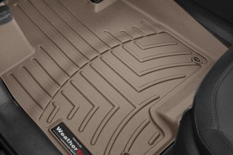 WeatherTech® 456451 - DigitalFit™ Molded Floor Liners (1st Row, Tan)