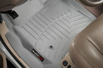 WeatherTech® 460021 - DigitalFit™ Molded Floor Liners (1st Row, Gray)