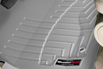 WeatherTech® 460051 - DigitalFit™ Molded Floor Liners (1st Row, Gray)