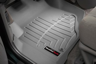 WeatherTech® 460071 - DigitalFit™ Molded Floor Liners (1st Row, Gray)