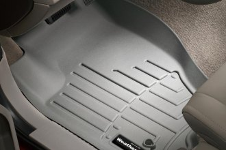 WeatherTech® 460131 - DigitalFit™ Molded Floor Liners (1st Row, Gray)