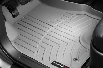 WeatherTech® 460141 - DigitalFit™ Molded Floor Liners (1st Row, Gray)