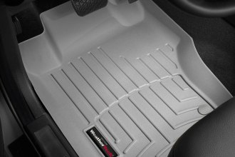 WeatherTech® 460161 - DigitalFit™ Molded Floor Liners (1st Row, Gray)