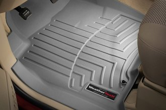 WeatherTech® 460191 - DigitalFit™ Molded Floor Liners (1st Row, Gray)
