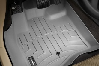 WeatherTech® 460311 - DigitalFit™ Molded Floor Liners (1st Row, Gray)