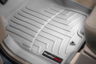 WeatherTech® 460331 - DigitalFit™ Molded Floor Liners (1st Row, Gray)