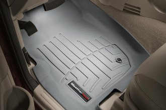 WeatherTech® 460431 - DigitalFit™ Molded Floor Liners (1st Row, Gray)
