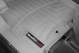 WeatherTech® 460471 - DigitalFit™ Molded Floor Liners (1st Row, Gray)
