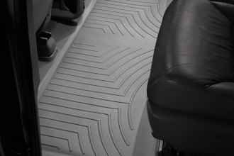 WeatherTech® 460492 - DigitalFit™ Molded Floor Liners (2nd Row, Gray)