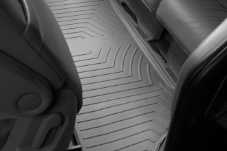 WeatherTech® 460493 - DigitalFit™ Molded Floor Liners (3rd Row, Gray)