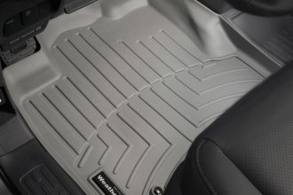 WeatherTech® 460501 - DigitalFit™ Molded Floor Liners (1st Row, Gray)